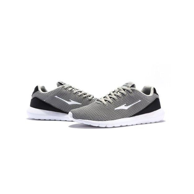 Gray Anti Skidding Outdoor Men's Sneakers