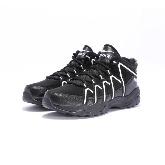 Black Anti Skidding Men's Basketball Shoes