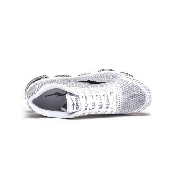 White Anti Skidding Outdoor Men's Sneakers