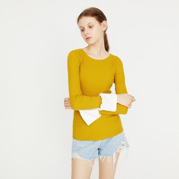 Yellow Women's T-Shirt