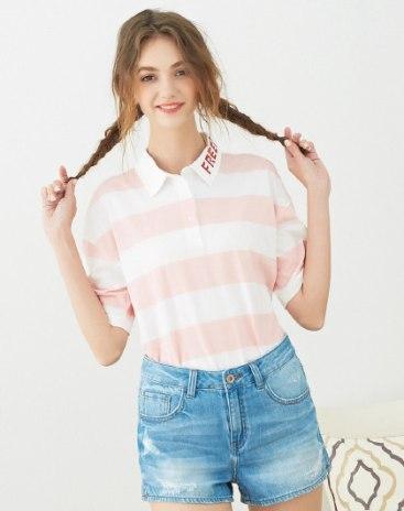 Pink Women's Polo