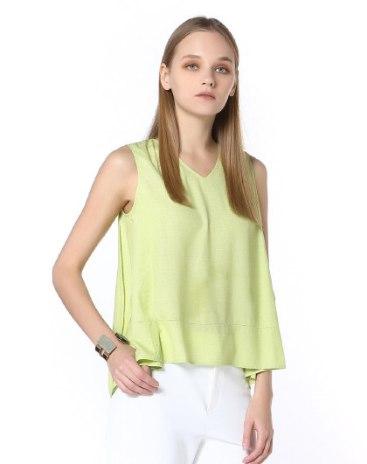 Green Women's Cami