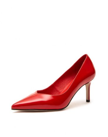 Red Women's Business Shoes