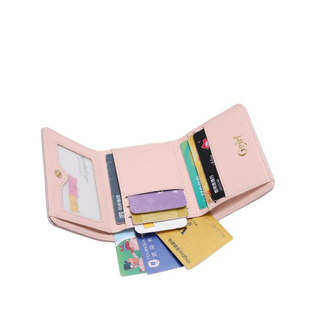 PU Purse(Short) Small Women's Wallet