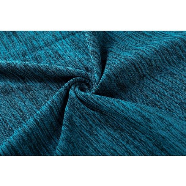 Blue Round Neck Short Sleeve Wear-Resistant Women's T-Shirt