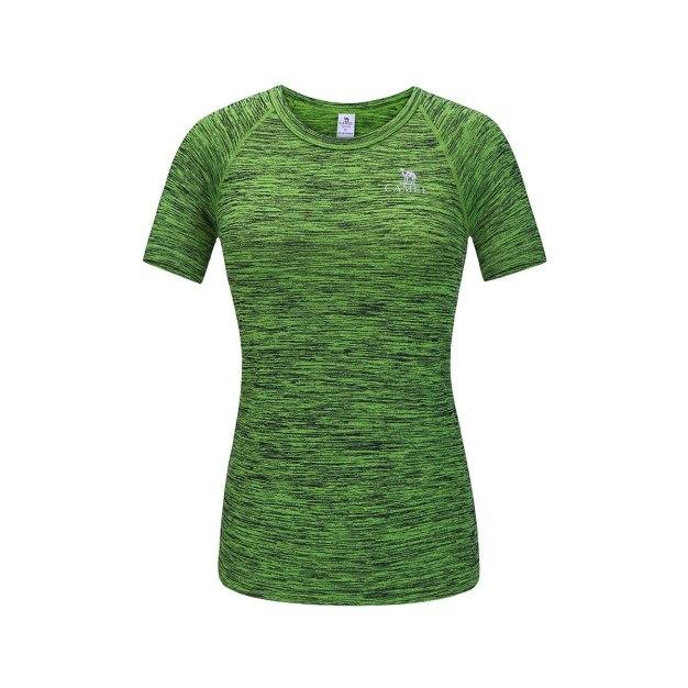 Round Neck Short Sleeve Wear-Resistant Women's T-Shirt