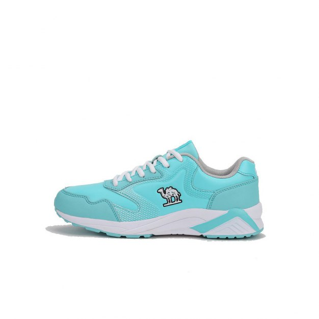 Blue Shock-Absorbing Running Women's Sneakers
