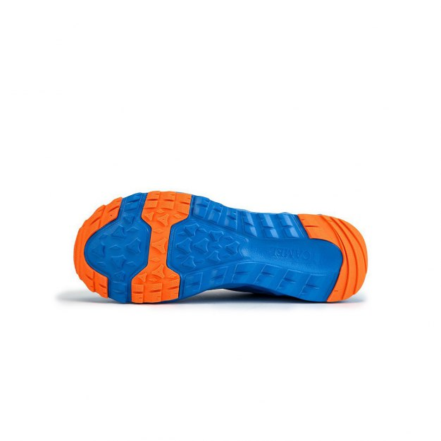 Blue Shock-Absorbing Sports Men's Sneakers