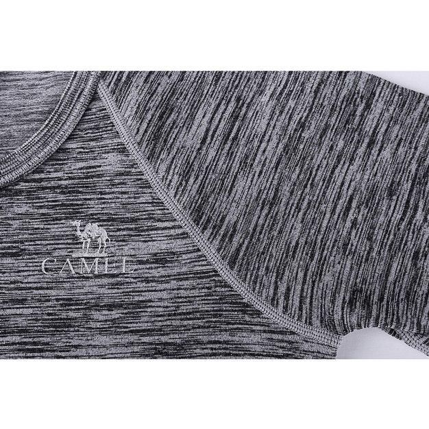 Gray Round Neck Short Sleeve Wear-Resistant Women's T-Shirt