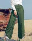 Green Women's Pants