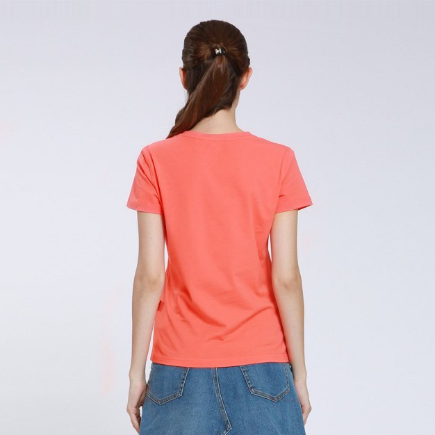 Round Neck Short Sleeve Women's T-Shirt