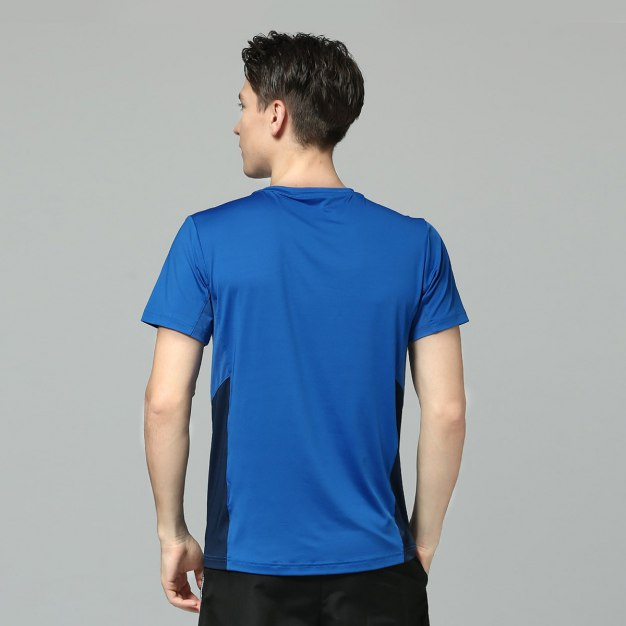 Blue Short Sleeve Men's T-Shirt