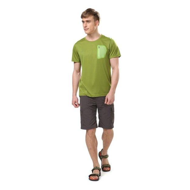 Green Short Sleeve Men's T-Shirt