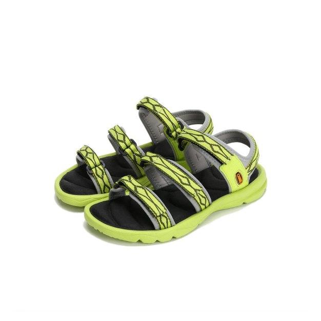 Green Anti Skidding Outdoor Korean Girl Women's Sandals