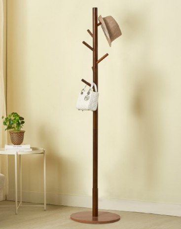 Brown Clothes Hallstand
