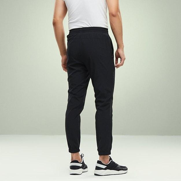 Black Long Quick Drying Men's Pants
