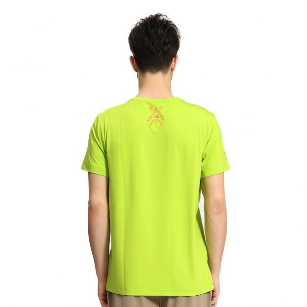 Green Short Sleeve Men's T-Shirt