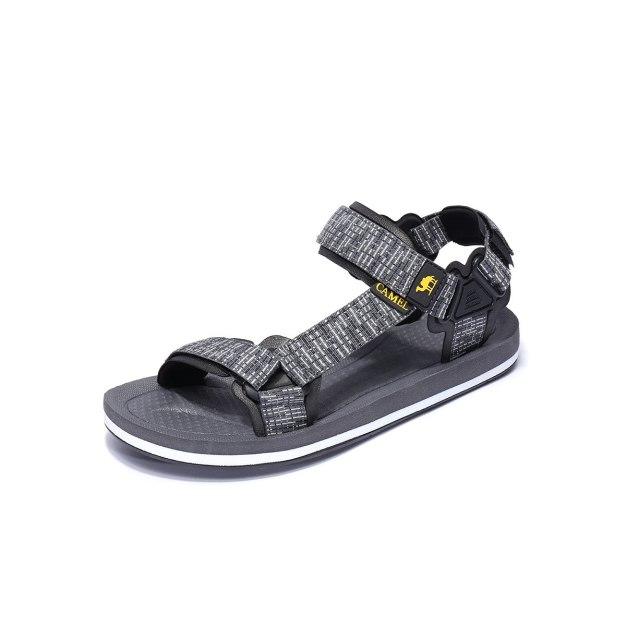 Gray Anti Skidding Outdoor Men's Sandals