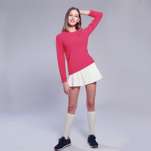 Round Neck Women's Outerwear