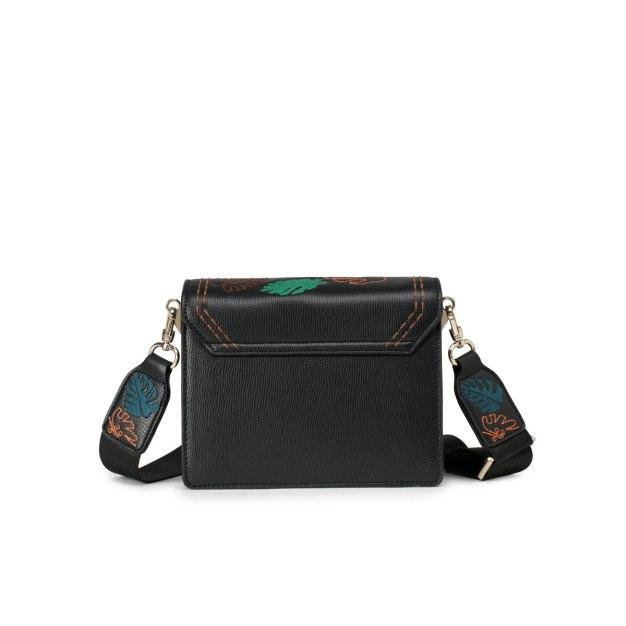 Black PU Envelope Bag Mini Women's Crossbody Bag