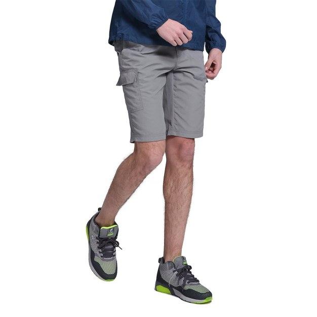 Gray CroppedPants Wear-Resistant Men's Pants