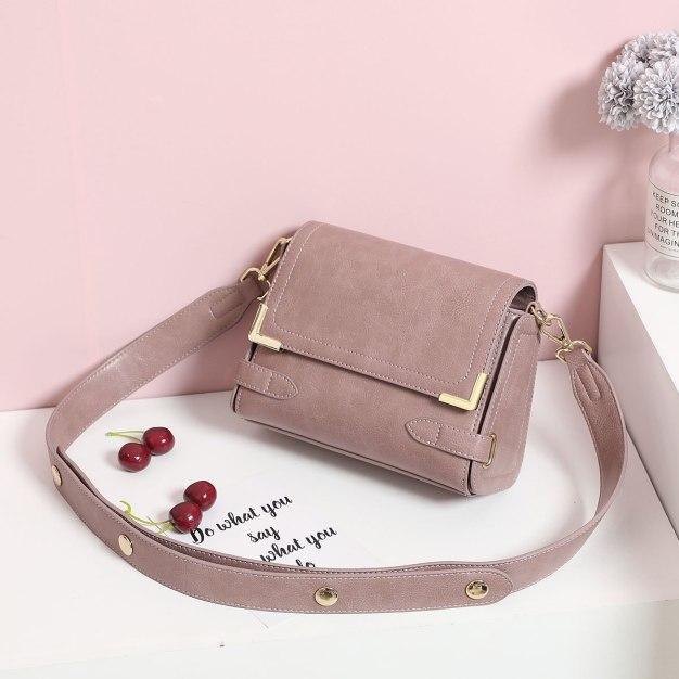 Plain PU Envelope Bag Small Women's Crossbody Bag