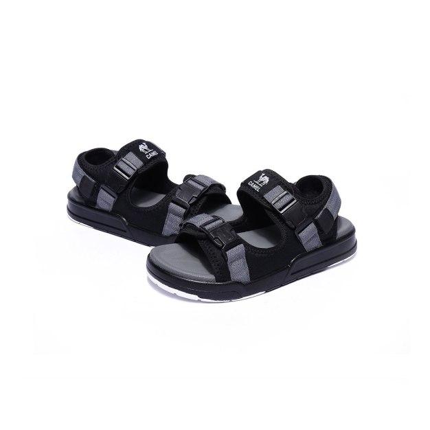 Gray Outdoor Korean Girl Women's Sandals