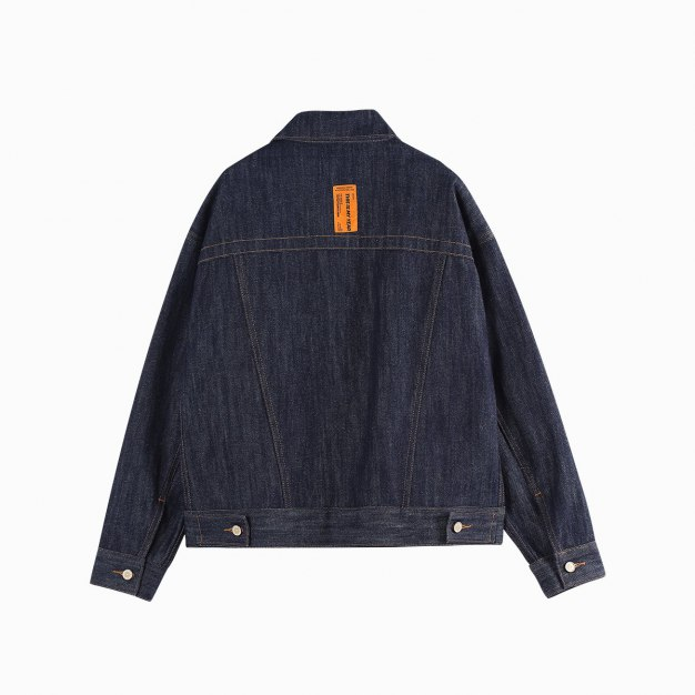 Blue Plain Lapel Long Sleeve Women's Outerwear