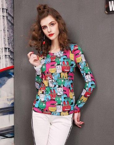 Colourful Women's Sweatshirt