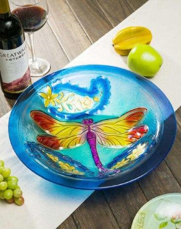 Glass Fruit Tray Baskets