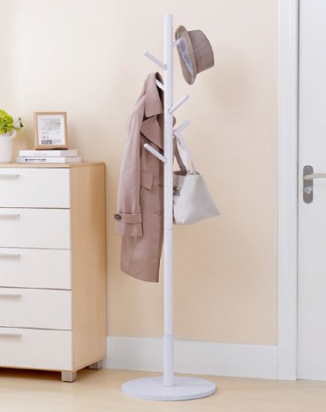 White Clothes Hallstand