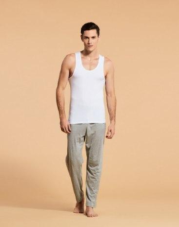 White Spandex(Lycra) Light Elastic Vest