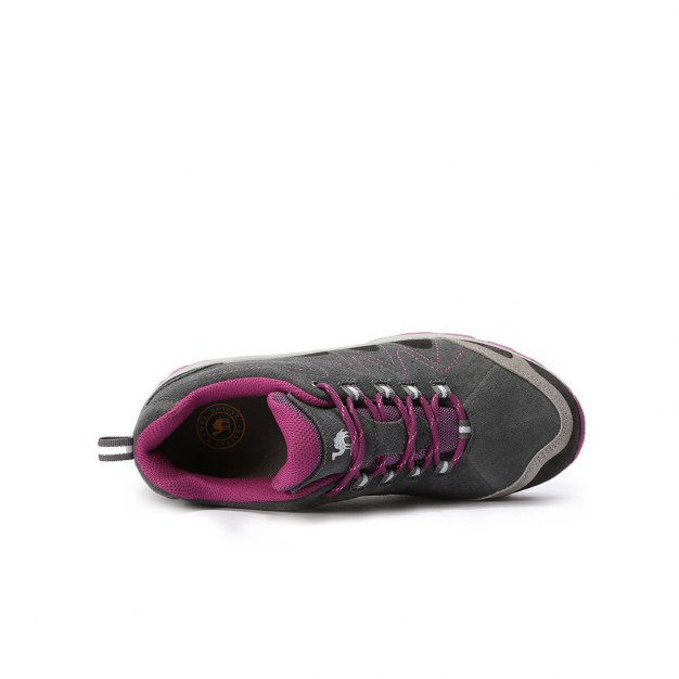 Gray Wear-Resistant Outdoor Women's Hiking Shoes