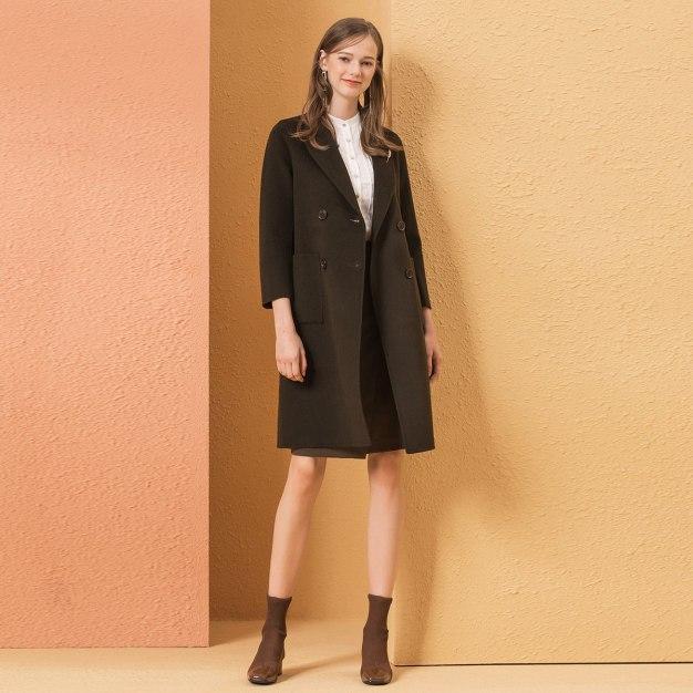 Green Women's Coat