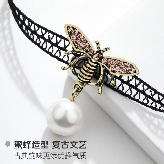 Gold Insect Pendant