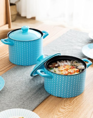 Blue Soup & Stock Pots