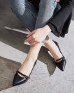 Beige Pointed High Heel Wear-Resistant Women's Pumps