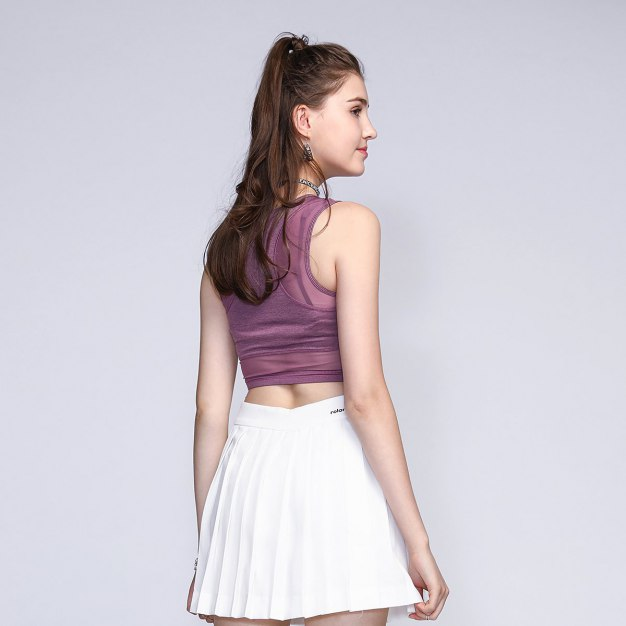 Round Neck Fitted Women's Cami