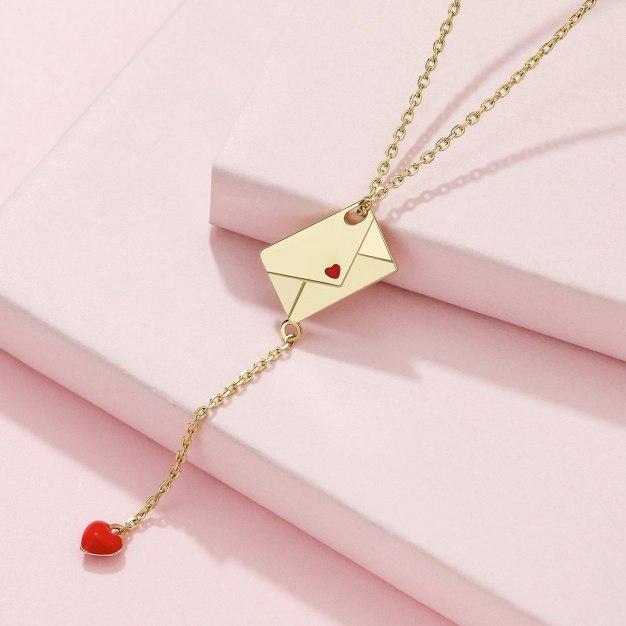 Gold Sweetheart Pendant