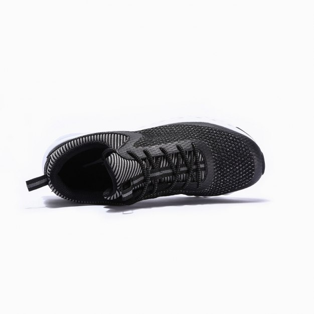 Black Wear-Resistant Running Women's Sneakers