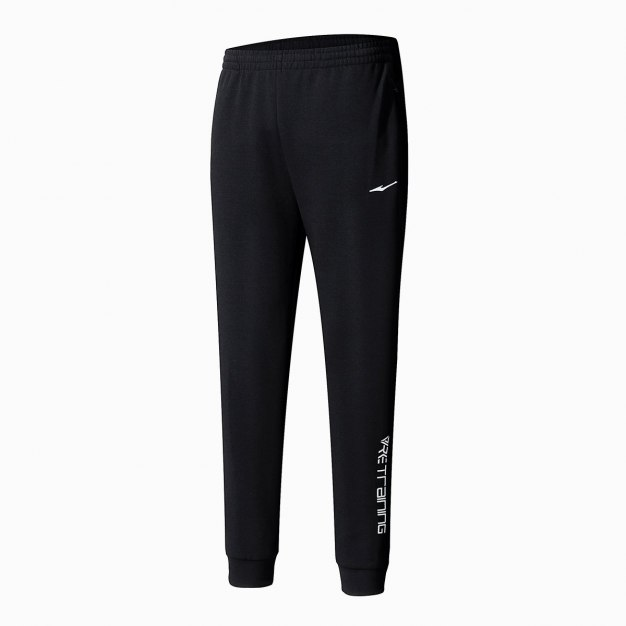 Black Cropped Quick Drying Women's Pants