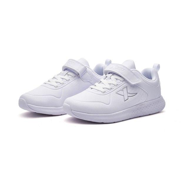 White Wear-Resistant Boys' Sneakers