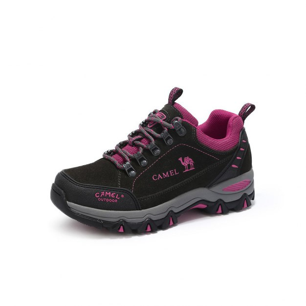 Gray Shock-Absorbing Outdoor Women's Hiking Shoes