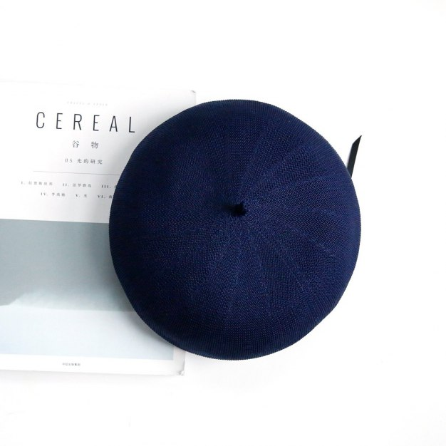 Dome Beanie Polyester Beret Hat & Cap