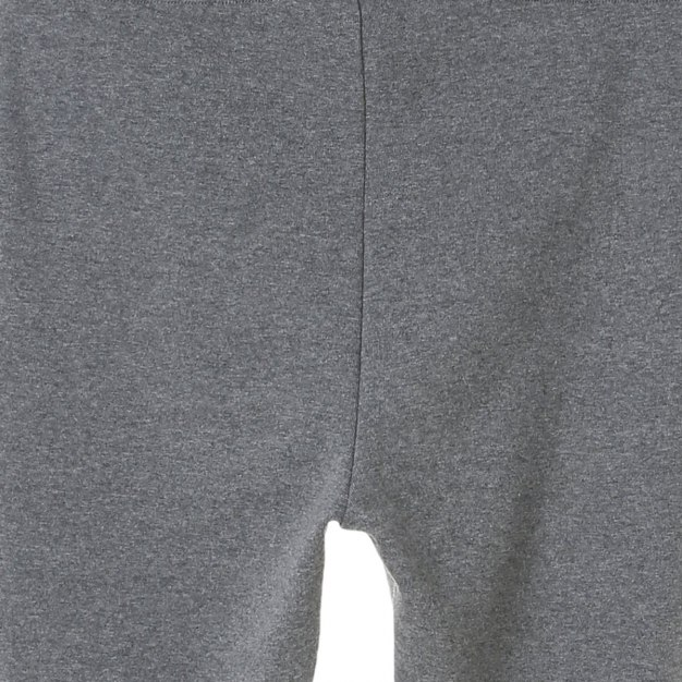 Gray Embroidery Short Women's Pants