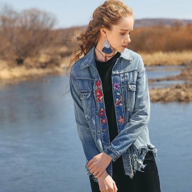 Blue Women's Outerwear
