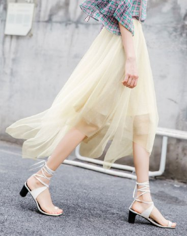 Apricot Women's Skirt