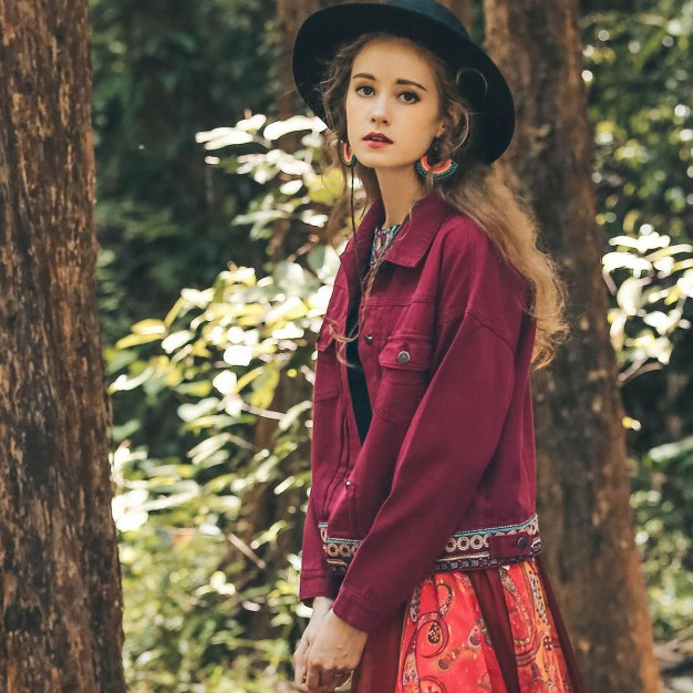 Red Women's Outerwear