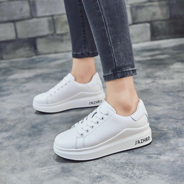 Round Head Flat Portable Women's Casual Shoes