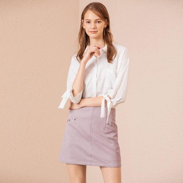 Pink High Waist Women's Bodycon Skirt